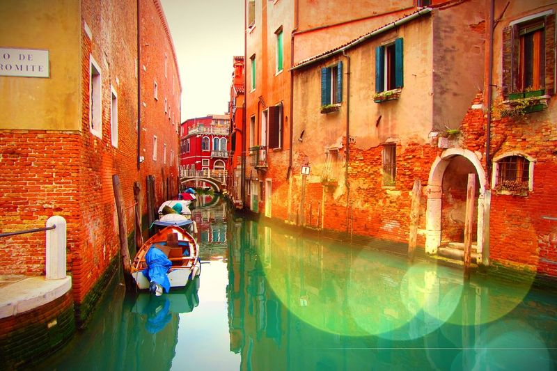 Venice, Italy Colourful Places Canale Grande Taking Photos