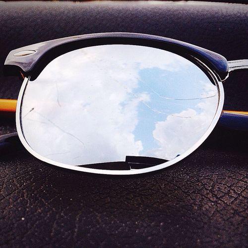 Sunglasses Blue Sky Skylovers Broken Glass Hello World Beyond Skin - Nitin Sawhney