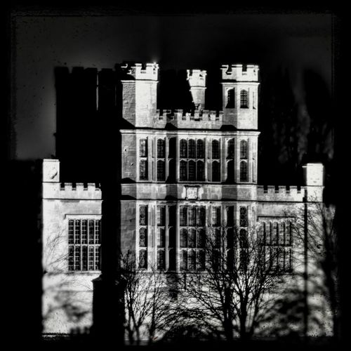 Coughton Court by night Blackandwhite Black And White Taking Photos Night Lights Night