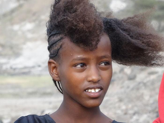 Ethiopian Nomads Ethiopian Girl Near Flamingo Lodge, Ethiopia Portrait First Eyeem Photo