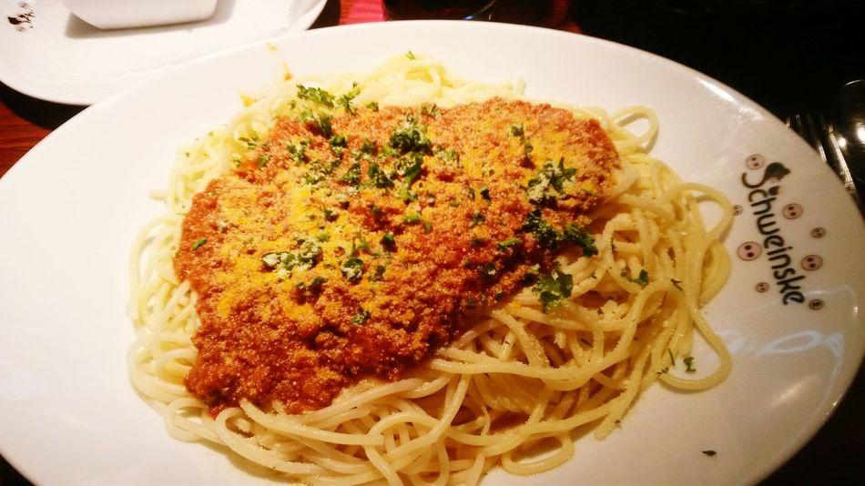 Dinner Spaghetti Bolognaise Food Porn Food Food Photography
