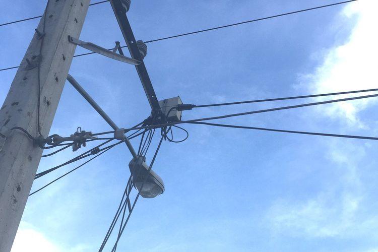 Los cables del