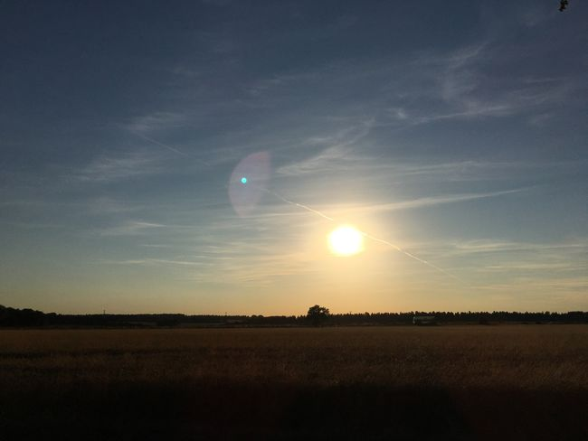 MobileSky Sun Sunset Clouds Sky