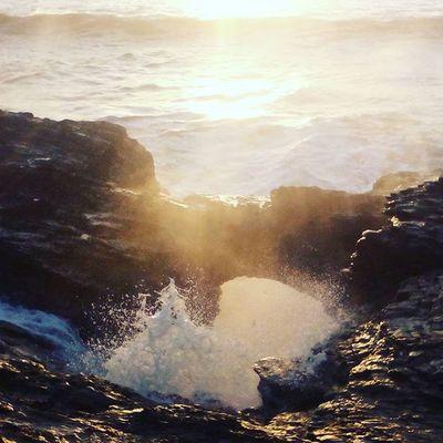 Le trou du diable Ocean Mer Christmas Sun Frenchcoast WestCoast France Water Soleil Saintgillescroixdevie Troududiable Vendée