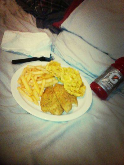 High Asf Finna Smash Dis Talaoia French Fries Nd Fried Bananas #ChefBoyRLoko