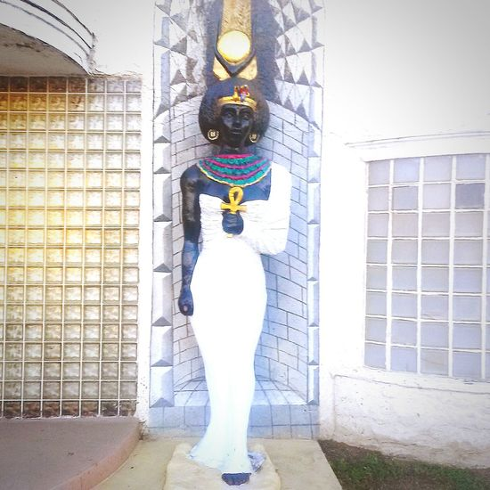 Nubian Queen Meditating Afrikan Temple Discover Your City