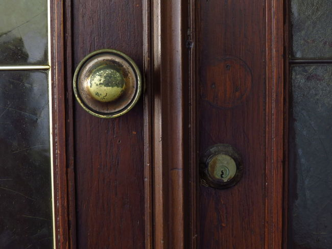 Abandoned & Derelict Abandoned Places Barred Doors Locked VOID Abandoned Abandoned Buildings Closed Closed Door Closed Up Door Door Knob Doorframe Doorhandle Doorknob Handle Lock Lock And Key  Locked Door Locked Up Old-fashioned Vacancy Vintage Wood - Material
