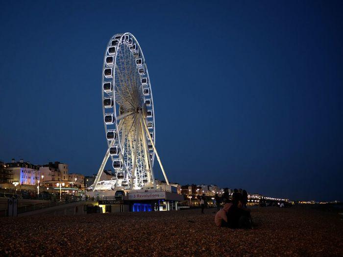 Merry Go Round Beach Brighton Fuji X100s
