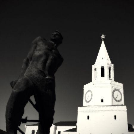 EyeEm Best Shots - Black + White Kazan Russia Light In The Darkness Greatness Black And White Photography Black & White Black And White Communism Sunny Day