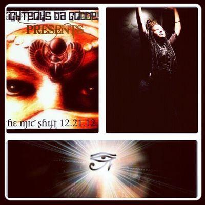 The Mic Shift mixtape by Righteousdagoddess dropping 12.21.12 Rdgtakeova Rdg2012 Micshiftmixtape mixtape goddess