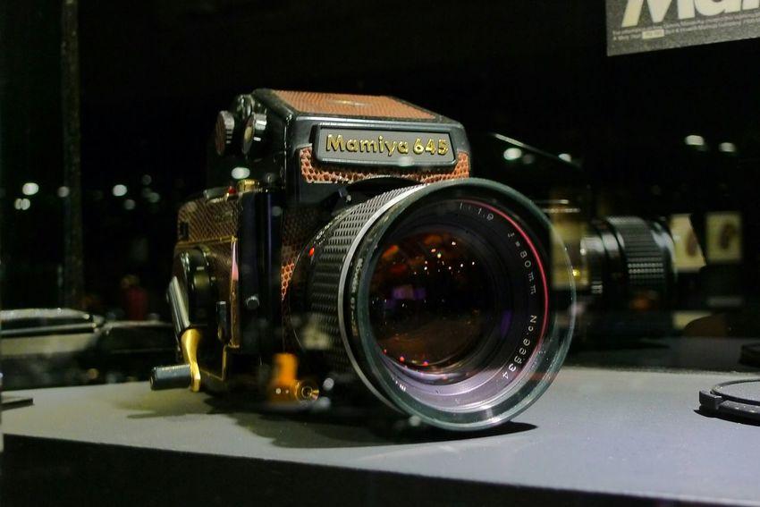 Lieblingsteil Close-up Indoors  Old-fashioned Camera Display Mamiya 645