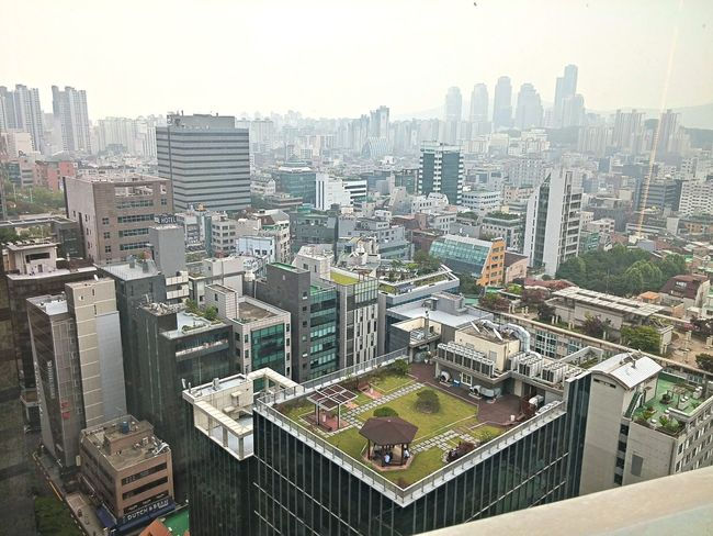 24floor Gangnam Tower Of Kyobo Cityscape On Top Of A Building i hope to make party in there