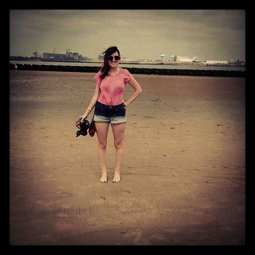 Beachday Roadtrip Bestfriend Newbrighton Summer Sandytoes Instafashion