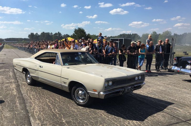 Dodge Coronet 440 Adult Adults Only Car Celebration Cloud - Sky Crowd Day Land Vehicle Large Group Of People Men Nature Outdoors People Real People Sky Spectator Standing Togetherness Transportation Tree Women