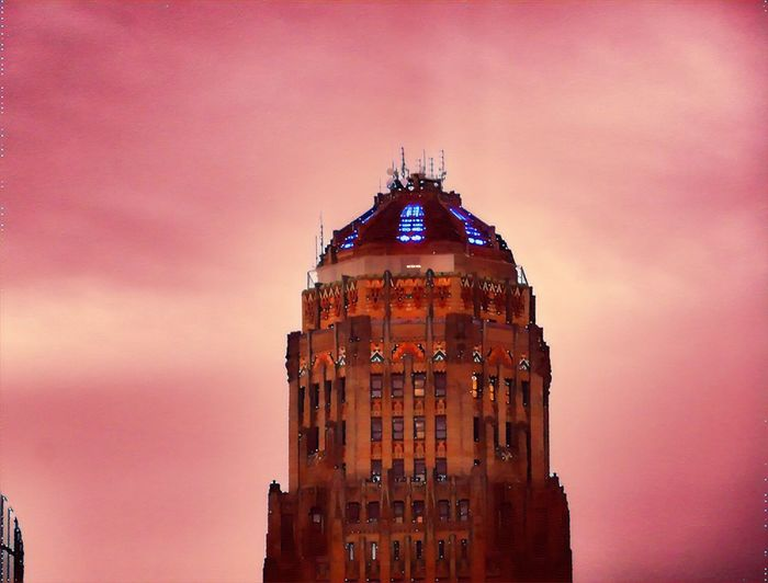 Architecture Sunset Building Exterior Built Structure Sky No People Outdoors Low Angle View City Day EyeEm Best Edits EyeEm Gallery City The Electric Tower Good Morning Prisma