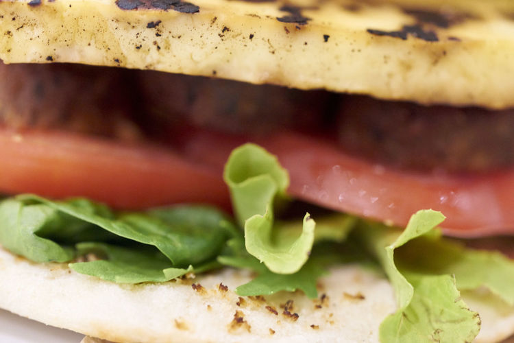 Close-up of sandwich