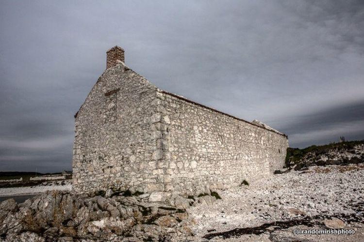 Rathlin Island ruin, Co Antrim, Northern Ireland. Rathlin Island Northern Ireland Ruins Abandoned Buildings