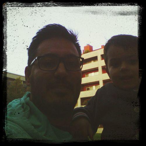Selfie Pai&filho Melhor Coisa Do Mundo Lindo !!!