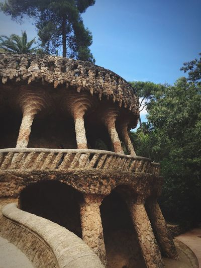 Welcome Jungle Parkguell Gaudi Barcelona Barcelona, Spain Relaxing