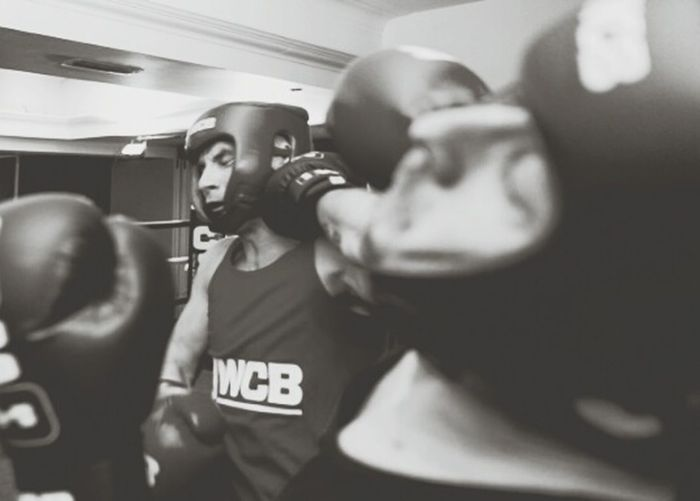 Here's me (closest) taking a punch in a Charity Boxing event took part in to raise money for Cancerresearchuk. Having never boxed before prior to the training. I put my body on the line in honour of those brave people who fight Cancer on a daily basis. UWCB CancerSucks Sport Combat Sports Champion Fight Brave
