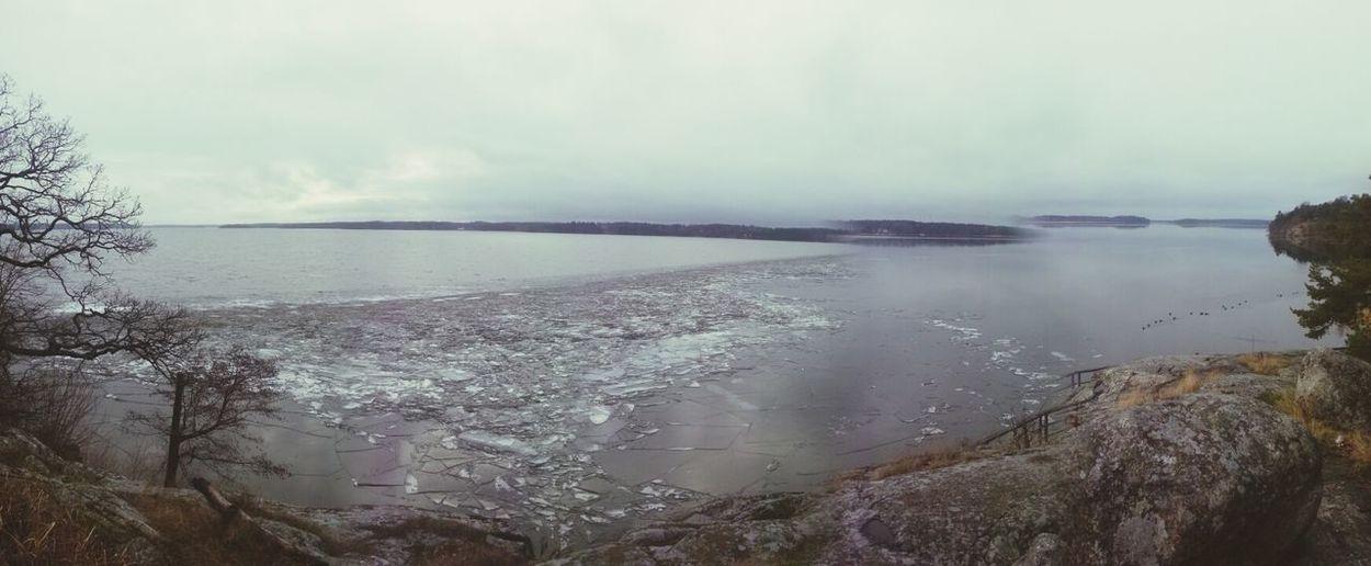 mäktigt ljud Ice