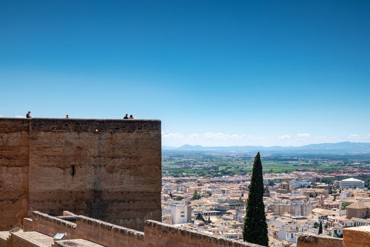 Alhambra (Granada) Alhambra De Granada  Granada, Spain Minimalist Architecture The Week on EyeEm Alhambra Blue Building Exterior Built Structure City Cityscape Clear Sky Copy Space Day History Nature Old Outdoors Residential District Sky The Past Tourism TOWNSCAPE Travel Travel Destinations