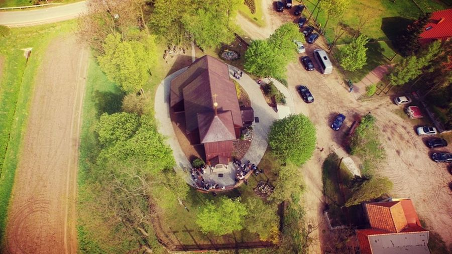 Wedding with drone. Inspire film Film Drone wedding slub z drona inspire phantom