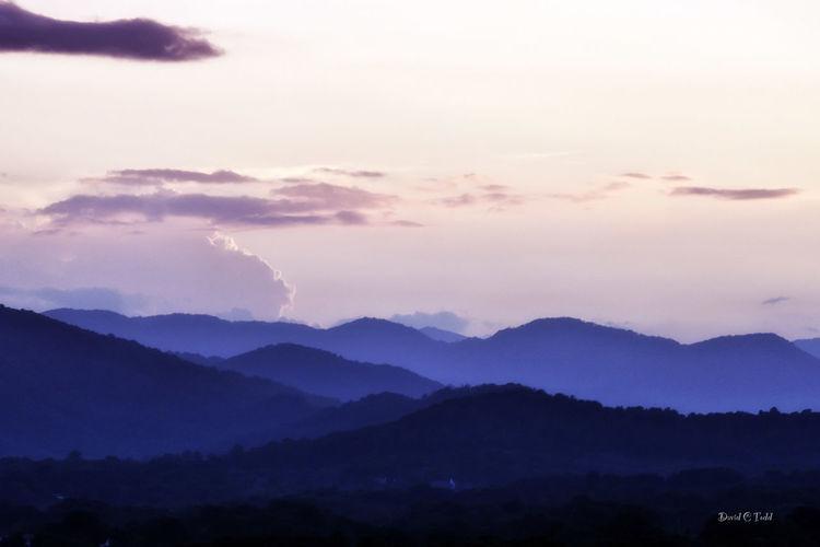 Blue Mountains Asheville, NC Beauty In Nature Landscape Majestic Mountain Mountain Range Nature Scenics Solitude