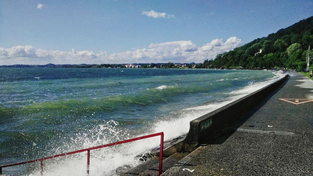 Windy Pipeline Starke Wellen Strong Waves Drivebyphotography Bodensee Lochau Blick The Street Photographer - 2017 EyeEm Awards The Great Outdoors - 2017 EyeEm Awards Sommergefühle Been There.
