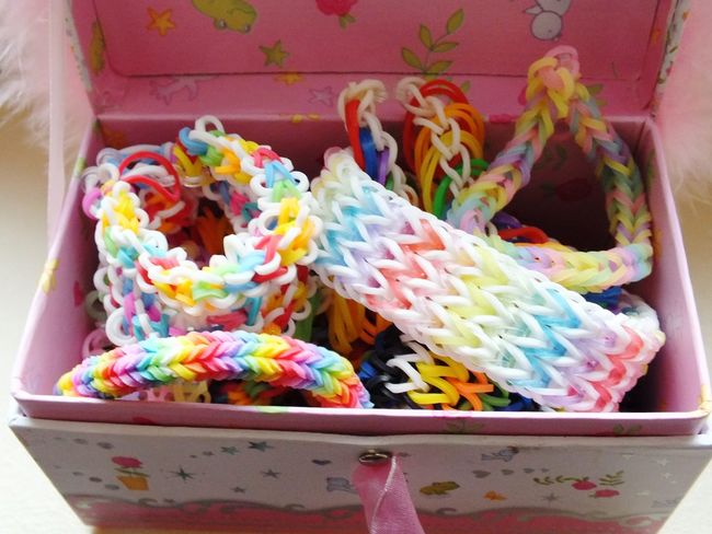 Arm Band At The Window Bracelet Close-up Jewelry Box Loom Loom Bands Loombands Multi Colored No People