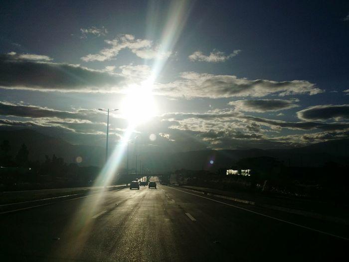Ecuador Ruta Viva Sunset Sunsetporn Sky And Clouds Sun And Clouds In The Car