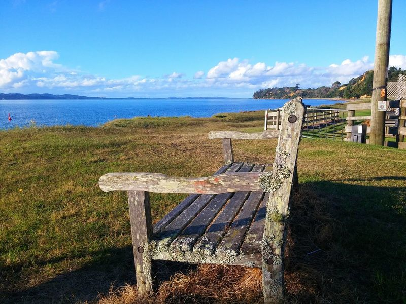 Sit down, just enjoy the view😃 No Filter, No Edit, Just Photography Travel Orua Bay New Zealand Nature Things I Like My Country And Proud NZ Colour Image Go Outside Once In A While Romantic Tranquility Outdoors Engage Your Senses Outdoor Photography New Zealand Scenery Sea And Sky Mountains And Sky Beach Photography Park Bench Sunset Waiuku Awhitu Peninsula Beautiful Sunset I WAS HERE the second seat😉next to the first seat...
