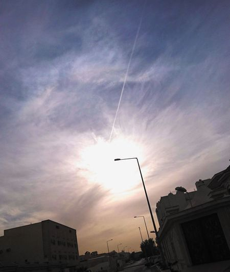 Sky Sunset Silhouette City Cloud - Sky Outdoors Vapor Trail No People Airshow Airplane Architecture Day Fighter Plane Nature NightIlluminated Rain Nautical Vessel