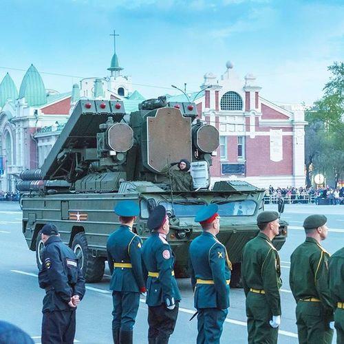 ЗРК Оса Новосибирск 9мая ПарадПобеды армия войска военнаятехника 9may Parade War Soldiers Troops Army Military