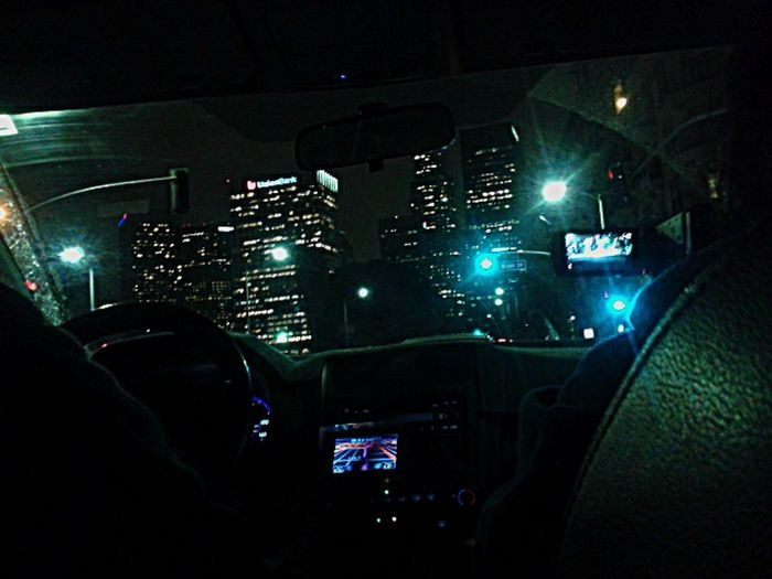 A nighttime drive at Los Angeles Enjoying Life Hello World Hanging Out LA Night