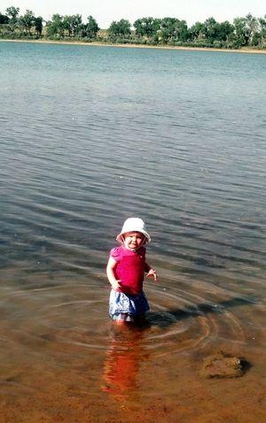 at the lake with Adalyn EyeEm Best Shots EyeEm Best Edits