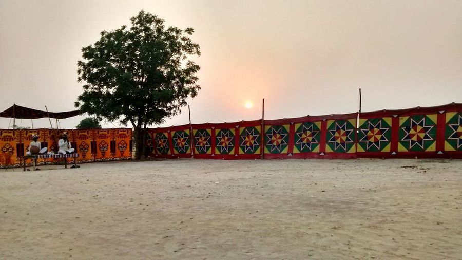 Rajasthan Sunset_collection Folk Songs Tradition