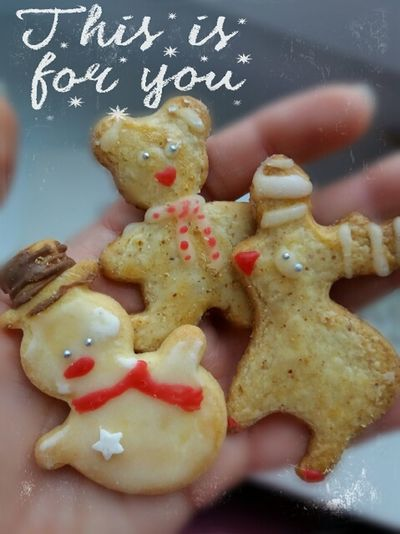 This is for you 😚I wish you all Merry Christmas! Wesołych Świąt ! MerryChristmas My Cookie Handmade For You Macro Cute Hobby Christmas Decoration Handmade By Me Christmas Food Cookie Blackboard  Christmas No People Indoors  Close-up Day