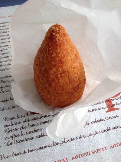 Arancini Sicily Italy Food *-*