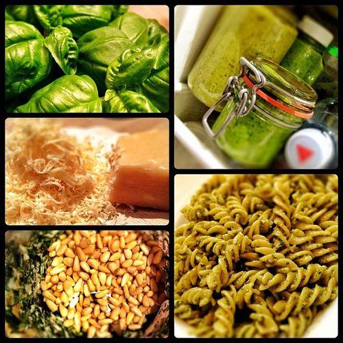 #prego! #pesto alla #genovese Snapseed All_shots Diptic Mampf Jj  Jj_forum Prego Genovese Camera Food Cooking Italia Pesto