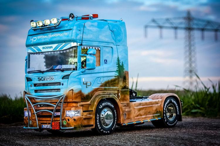 Tamiya Scania