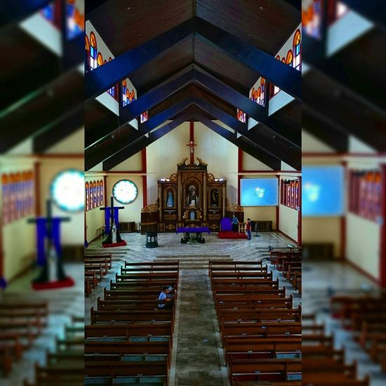 7 of 14 San Antonio de Padua Church || Via Crucis 2015 . . . Lent2015 Viacrucis Church Heritage themanansala