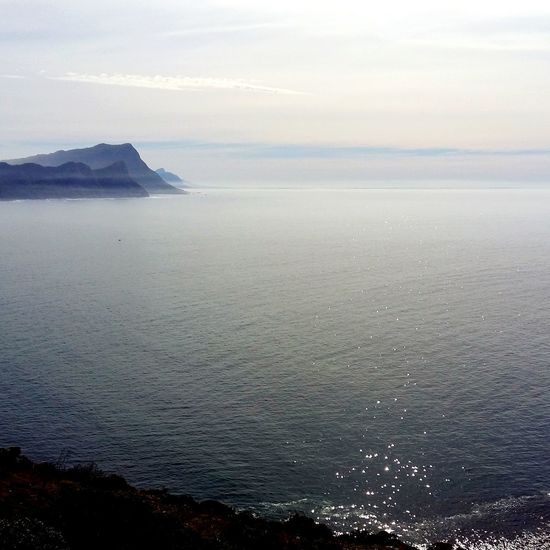 A mild day touring round False Bay I Love Cape Town