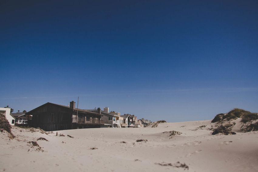 Photography Evanscsmith Photographerinlasvegas Sand Dune City Clear Sky Desert Beach Sand Arid Climate Blue Old Ruin Sky Fort