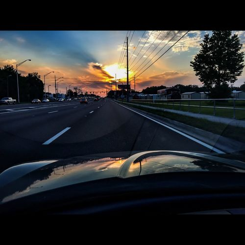 Mazda Rx8 Sunset Sunset_collection Florida Life Tampa Fl