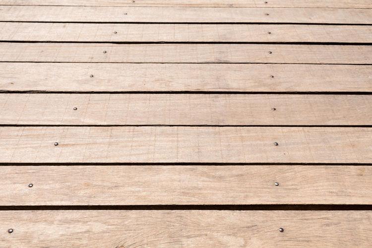 Full frame shot of boardwalk