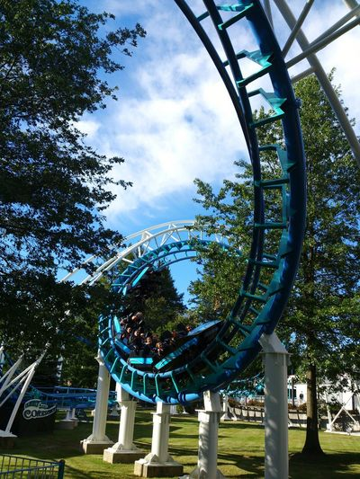 Canobielakepark Roller Coaster Salem NH Corkscrew New England  Done That. Go Higher