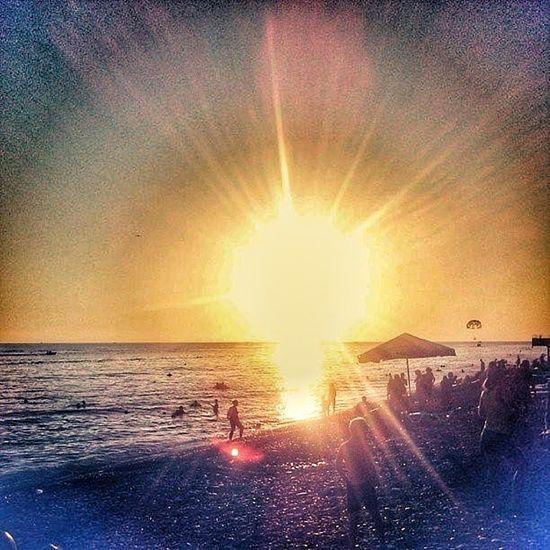 Sun Day Sun Sea Black Sea Horizon Holiday Hi! Hello World Sky Russia краски природы Clouds Photo небо горизонт Обрывки памяти Color красота кропоткин Природа Nature Beutiful  солнце