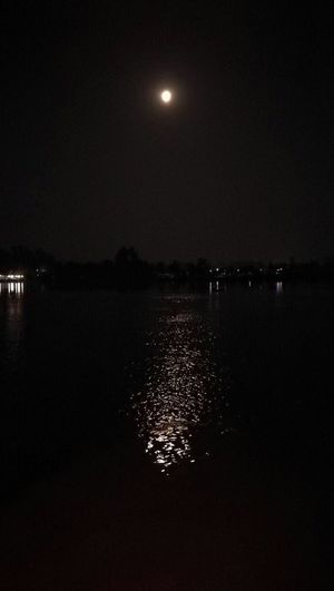 Moon Moonlight Moon Light Moonshine Moon Rising River Riverside River View Riverscape Riverside Photography Thai Thailand Thailand_allshots Thailandtravel Amphawa  Amphawa Thailand Amphawa Floating Market