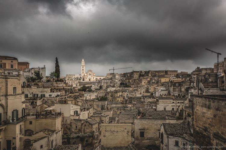 Matera 2019 | Easter | Sassi, Wind & Clouds Puglia Basilicata, Italy  Basilicata Matera Matera Italy Matera2019 South Sassi Di Matera Matera - Capitale Della Cultura Tempest Wind EyeEm Best Shots Matera Italy South Italy South Sassi Di Matera House Grandparents South South Italy Architecture Building Exterior Built Structure Cloud - Sky Sky City Building Cityscape Travel Destinations Storm Cloud